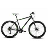 Велосипед Welt 2018 Rockfall 1.0 matt grey/green (US:S)