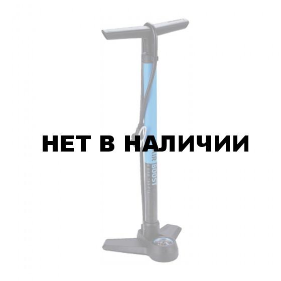 Насос напольный BBB AirBoost steel pump синий (BFP-21)