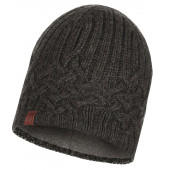 Шапка BUFF KNITTED & POLAR HAT HELLE GRAPHITE