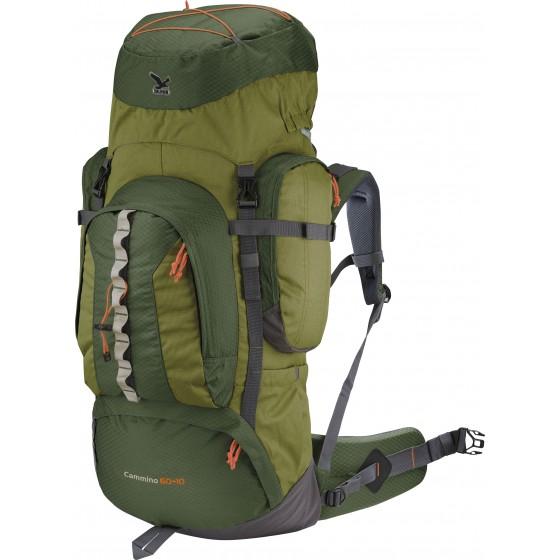 Рюкзак Salewa Hiking Cammino 60+10 darklime/anthracite