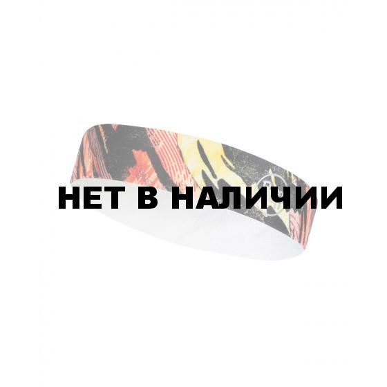 Повязка BUFF WIDE HAIRBAND R-RIVERBANK MULTIT FURRY CRU