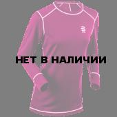 Футболка с длинным рукавомом Bjorn Daehlie 2017-18 Shirt TrainingWool Wmn Bright Rose