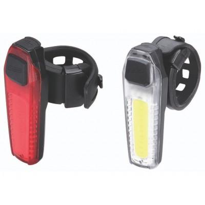 Велофонарь (комплект) BBB 2015 lightset CombiSignal front + rear rechargeable lithium battery (BLS-83)