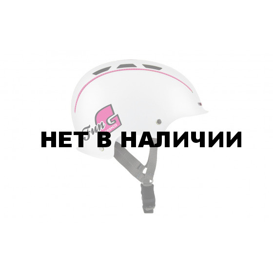 Летний шлем Casco 2016 YOUTH & KIDS Fun-Generation white