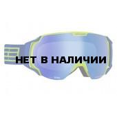 Очки горнолыжные Salice 619DARWF YELLOW/RWBLU