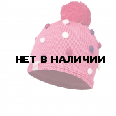 Шапка BUFF KNITTED KIDS COLLECTION CHILD KNITTED & POLAR HAT BUFF ODELL IBIS ROSE/OD