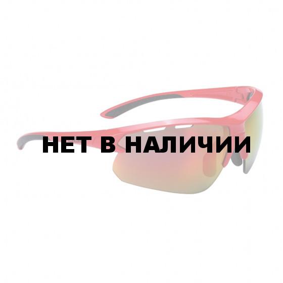 Очки солнцезащитные BBB 2018 Impulse PC Smoke red MLC lenses красный, черный