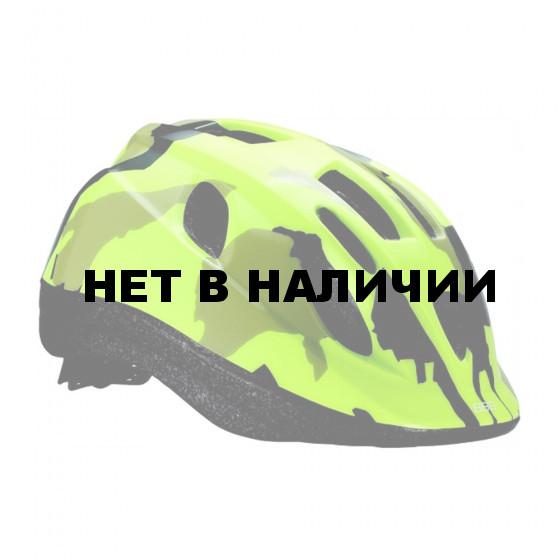 Летний шлем BBB Boogy камуфляж/неон/желтый (BHE-37)