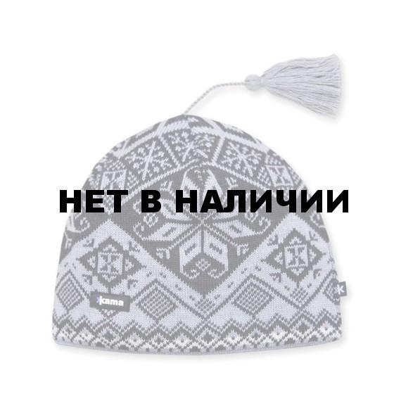 Шапка Kama AW61 grey