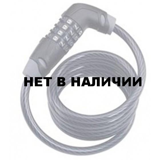 Замок велосипедный BBB CodeSafe cable combination lock 6mm x 1500mm (BBL-35)