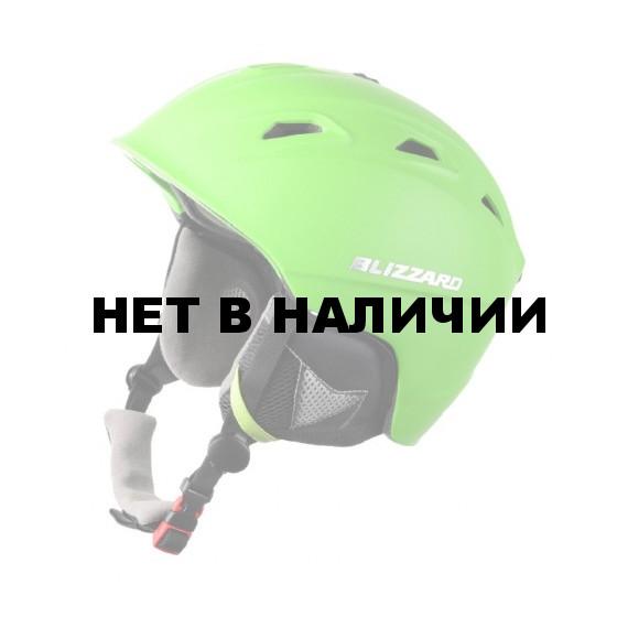 Зимний Шлем Blizzard 2016-17 Demon neon green matt (см:56-59)