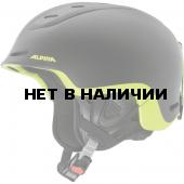 Зимний Шлем Alpina SPINE black-neon-yellow matt