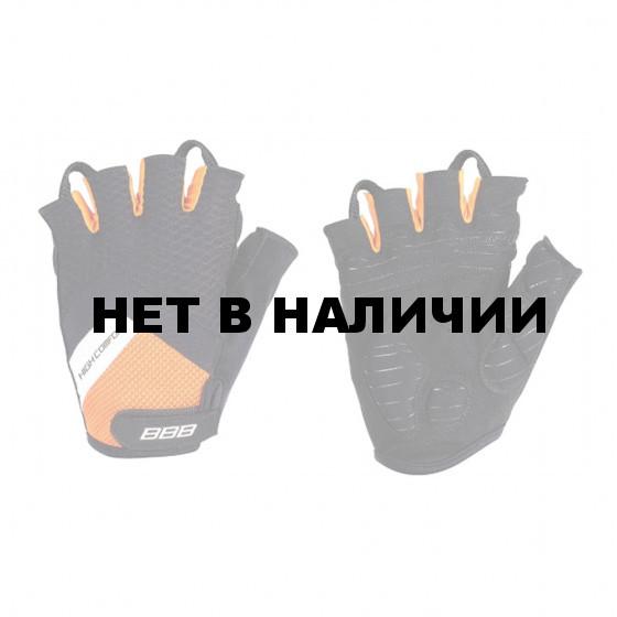 Перчатки велосипедные BBB 2018 HighComfort Memory Foam черный, оранжевый