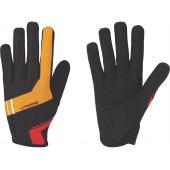 Перчатки велосипедные BBB LiteZone black/orangered (BBW-46)
