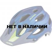 Велошлем Alpina 2018 Carapax darkblue-neon