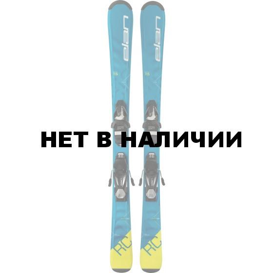 Горные лыжи с креплениями Elan 2017-18 RC Race EL 7.5 QS (130-150)