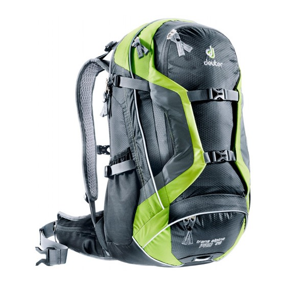 Рюкзак Deuter 2015 Bike Trans Alpine Pro 28 black-kiwi