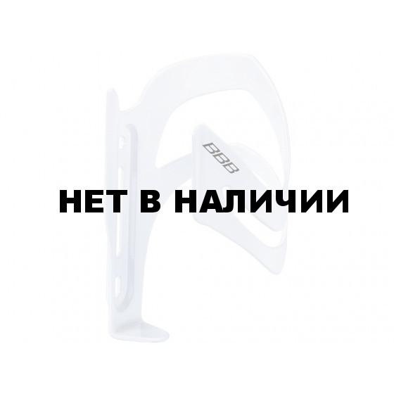 Флягодержатель BBB SideCage left блестящий белый (BBC-35L)
