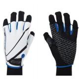 Перчатки велосипедные BBB Racer white blue (BBW-32_white blue)