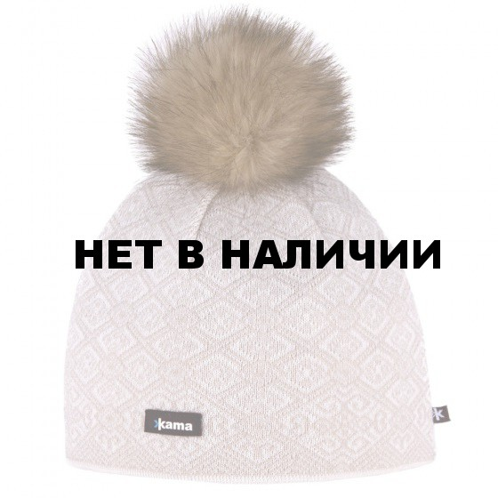 Шапка Kama 2015-16 A92 off white