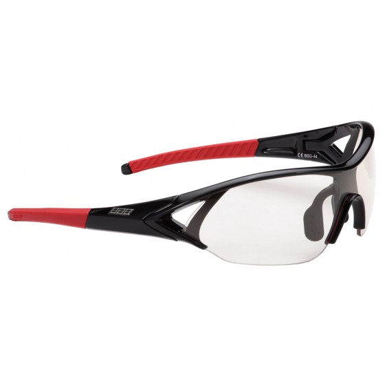 Оправа для велоочков BBB frame Impact glossy black,red temple rubber (BSG-44)