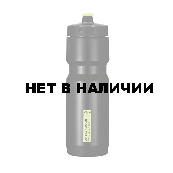 Фляга вело BBB 750ml. CompTank black/yellow (BWB-05)