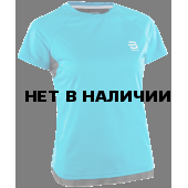 Футболка беговая Bjorn Daehlie 2018 T-Shirt Oxygen Wmn Blue