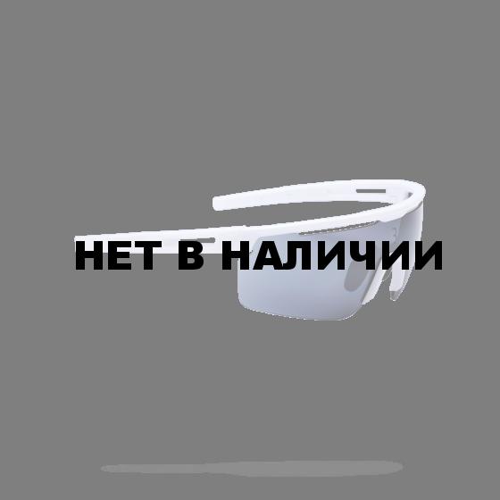 Очки солнцезащитные BBB 2018 Avenger PC Smoke flash mirror lenses белый