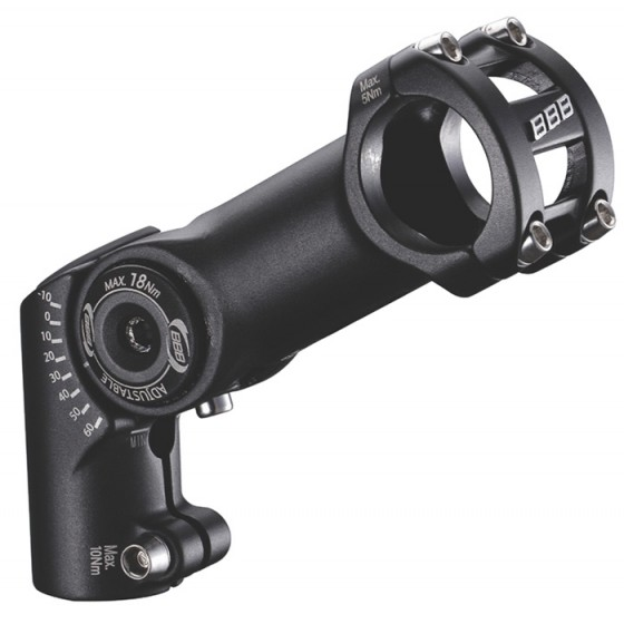Вынос BBB adjusteable HighFix 120mm 31.8 black (BHS-35)