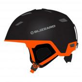 Зимний Шлем Blizzard 2016-17 Double black matt/neon orange