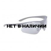 Очки солнцезащитные BBB Impulse black rubber temple tips, PC Smoke flash mirror lenses матовый темный/синий (BSG-52)