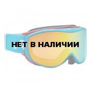 Очки горнолыжные Alpina Challenge 2.0 MM lightblue_MM orange S2