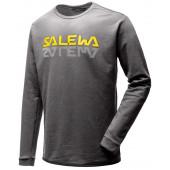 Футболка с длинным рукавом для активного отдыха Salewa 2018 REFLECTION DRI-REL M SWTR grey melange