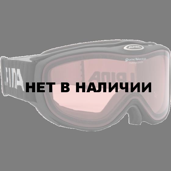 Очки горнолыжные Alpina Challenge 2.0 QV black matt_Q Vario S1-2