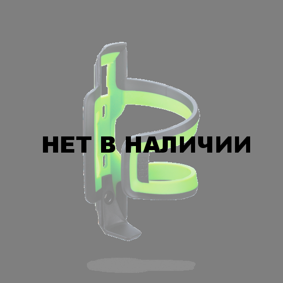 Флягодержатель BBB DualAttack черный/зелёный