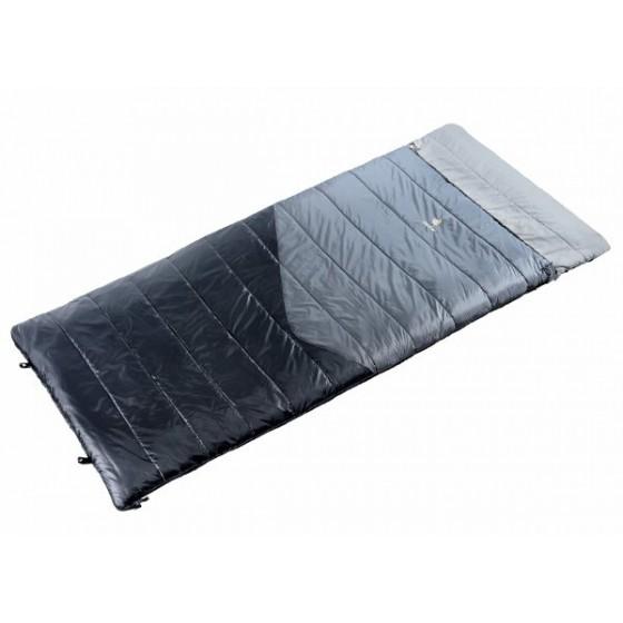 Спальник Deuter 2016-17 Sleeping Bags Space II (прав) titan-black