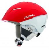 Зимний Шлем Alpina CHEOS SL red-white