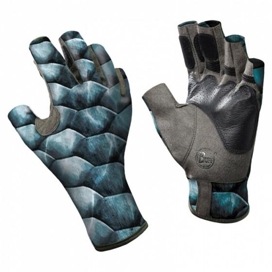 Перчатки рыболовные BUFF Angler Gloves BUFF ANGLER II GLOVES BUFF TARPON SCALES S/M