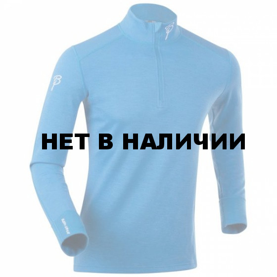 Футболка с длинным рукавом Bjorn Daehlie UNDERWEAR Half Zip ACTIVE Brilliant Blue (Синий)