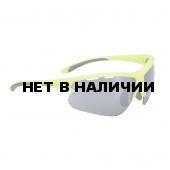 Очки солнцезащитные BBB 2018 Impulse PC Smoke flash mirror lenses желтый, черный