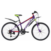 Велосипед Welt 2018 Peak 24 violet/green/red