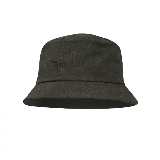 Кепка BUFF TREK BUCKET HAT CHECKBOARD MOSS GREEN