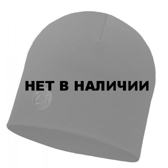 Шапка BUFF 2016-17 MERINO WOOL THERMAL HAT BUFF®SOLID BLACK-BLACK-Standard