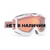 Очки горнолыжные Salice 606DAFV WHITE-RED/AMBER (б/р:ONE SIZE)