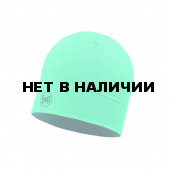 Шапка BUFF MIDWEIGHT MERINO WOOL HAT SOLID TURQUOISE