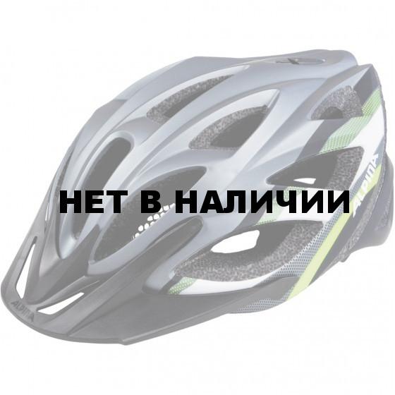 Велошлем Alpina 2018 Seheos L.E. darksilver-black-neon