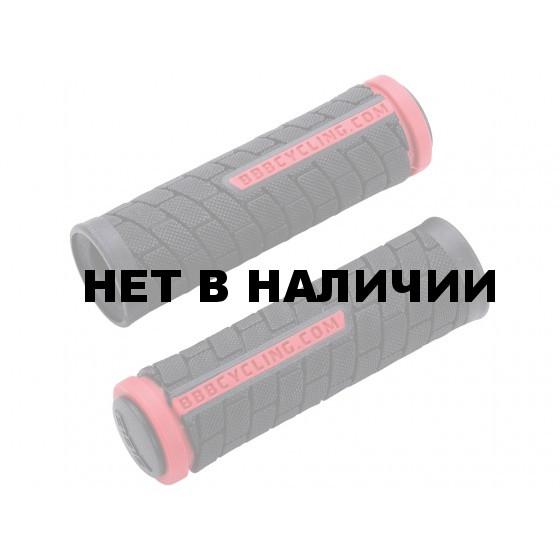 Грипсы BBB DualGrip 102mm черный/красный (BHG-07)