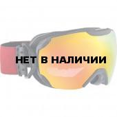 Очки горнолыжные Alpina PHEOS S QMM black matt_QMM red sph. S2