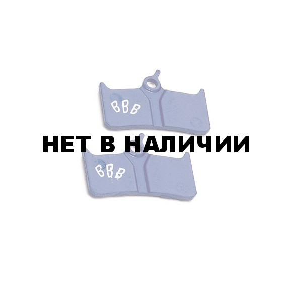 Тормозные колодки BBB DiscStop comp.w/Shimano XT M755, Grimeca system 8,Hope mono M4,Hope Tech M4 and The Cleg (BBS-50)