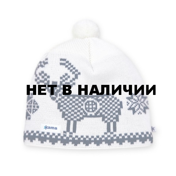 Шапка Kama AW18 (off-white) белый